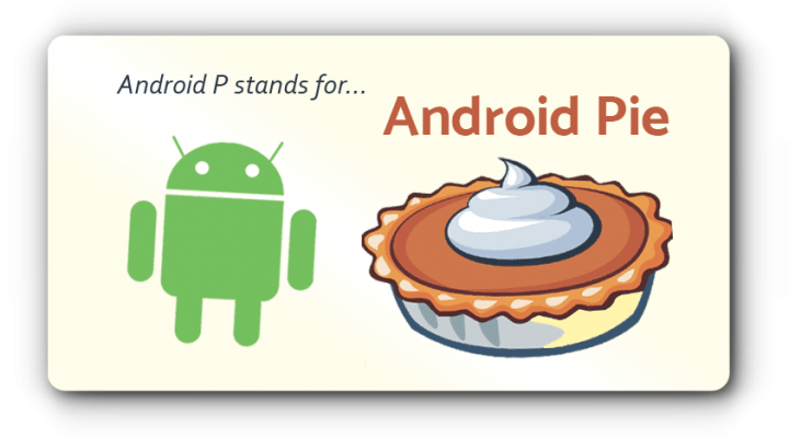Google's Android 9 is officially called Android Pie