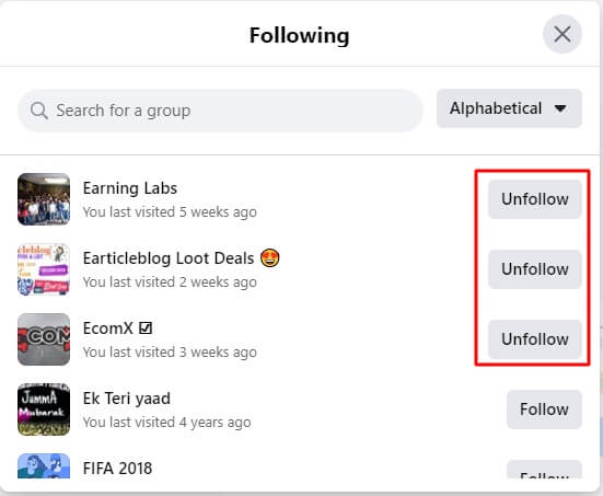 how-to-unfollow-a-group-on-facebook